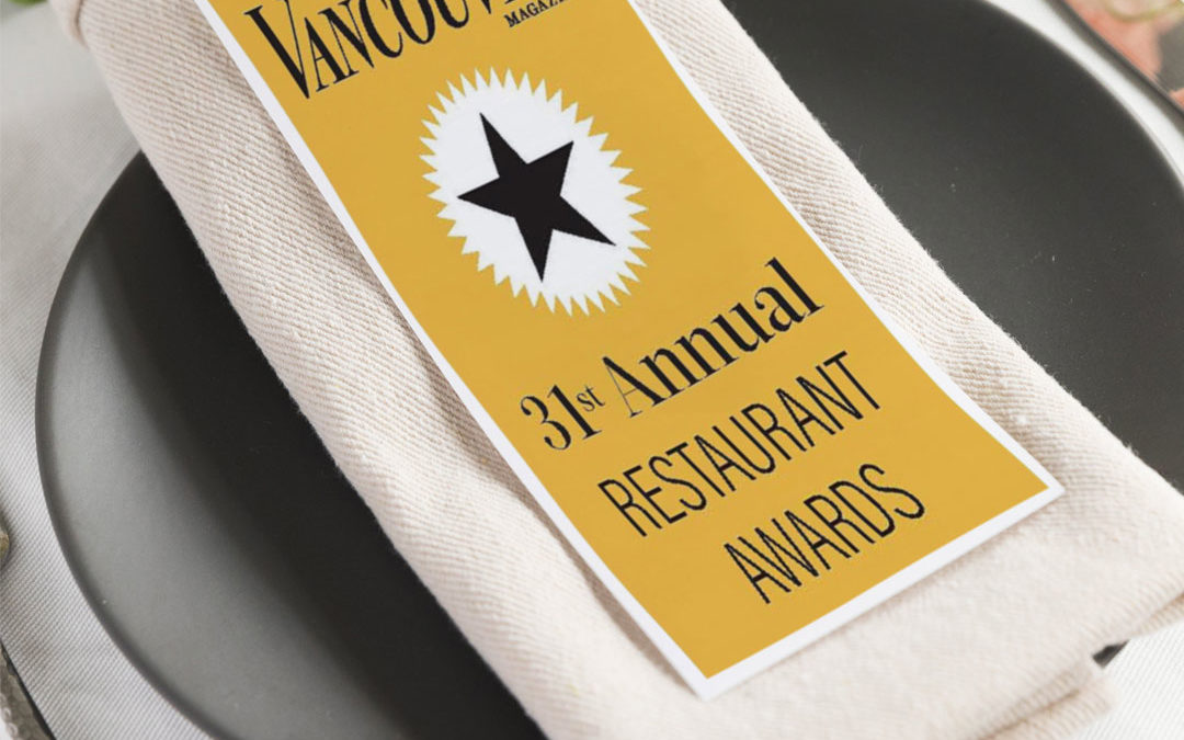 Episode 18: 31st Vancouver Magazine Restaurant Awards